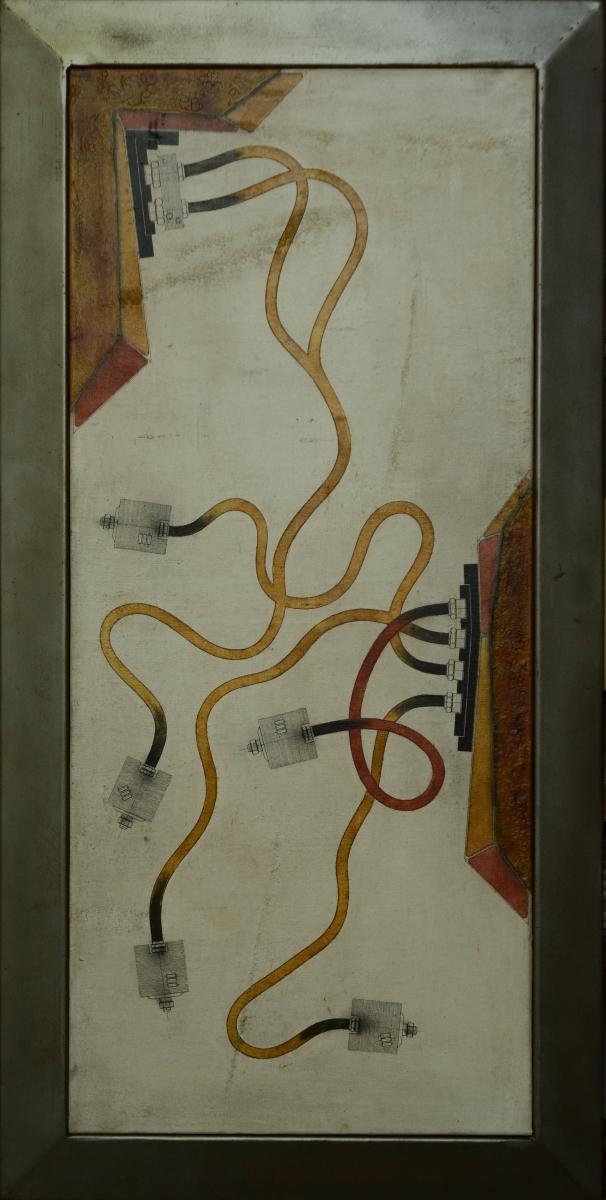 15. Yves Velter, 66 x 130 cm, acryl op doek.DSC 2927