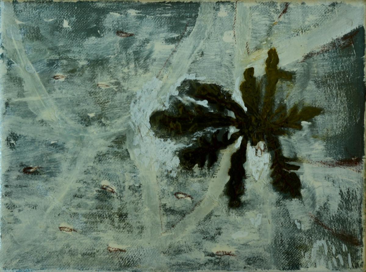 18. Sven Verhaeghe, 24 x 18 cm, olieverf op doek. DSC 2938